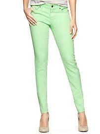1969 neon always skinny skimmer jeans