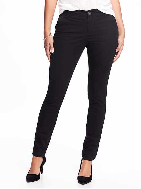 662d24ba2 Mid-Rise Skinny Everyday Khakis for Women