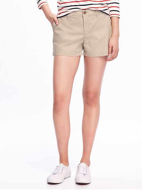 f0fd8eb06e8 Relaxed Mid-Rise Everyday Shorts For Women - 3.5 inch inseam
