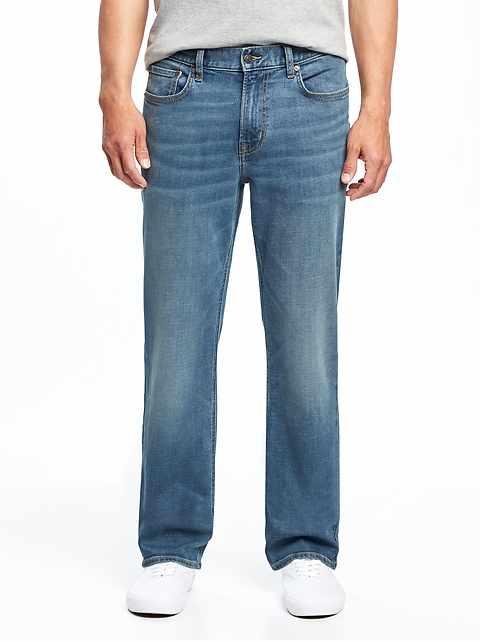 2b641ea5d56 Loose Built-In Flex Jeans for Men