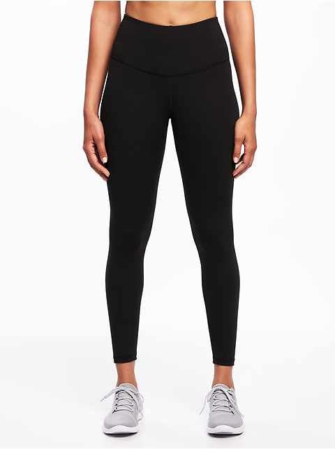 Women S Elevate Compression 7 8 Legging Activewear Bottoms Old Navy