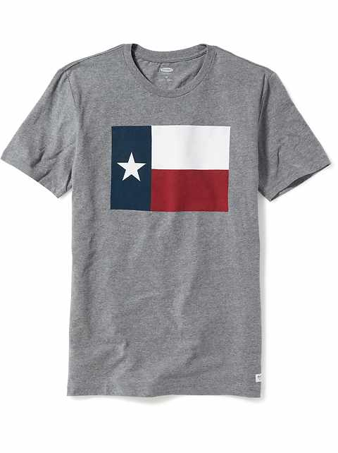 c27daf5646d Texas-Graphic Tee for Men