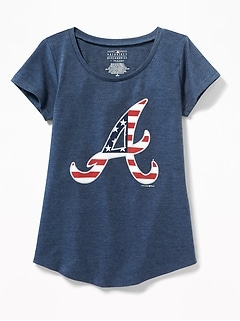MLB174 Americana Team Tee For Girls