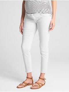 955735af9173d Maternity Inset Panel True Skinny Jeans