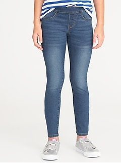 48ad320b60b8 Skinny Pull-On Jeggings for Girls