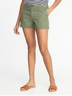 d568a944b Relaxed Mid-Rise Everyday Shorts For Women - 3.5 inch inseam