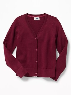 Girls Sweaters Outerwear Uniforms By Style Old Navy