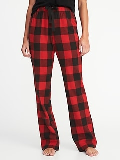 Patterned Flannel Sleep Pants for Women be196e3b8