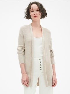 true soft open front cardigan sweater