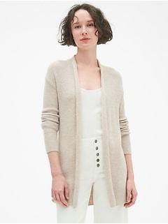 true soft open front cardigan sweater