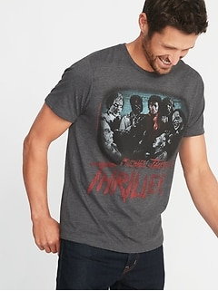 michael jacksons thriller tee for men - Christmas Pajamas Old Navy