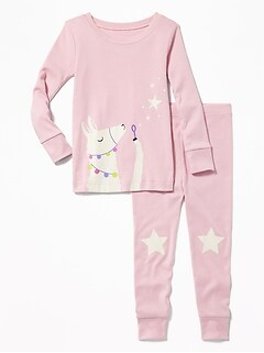 93c8b9eb3b Llama Sleep Set for Toddler   Baby