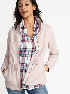 Twill Field Jacket for Women 6d6f96c3c1