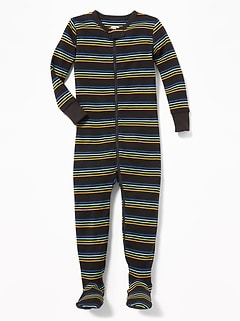 988a657c12 Striped Footed Sleeper for Toddler   Baby