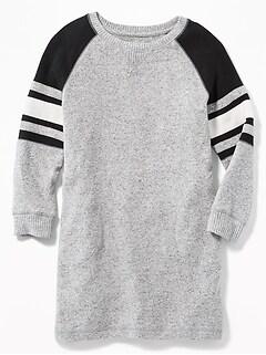 6a5e6616dc Plush-Knit Raglan Tunic for Girls
