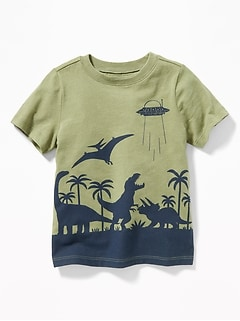 1a3450edff Graphic Crew-Neck Tee for Toddler Boys