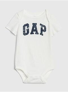 236bb22935332d Baby Gap Logo Short Sleeve Bodysuit