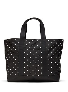 Polka Dot Large Tote Bag