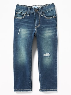 e4520e982 Karate Built-In Flex Max Distressed Skinny Jeans for Toddler Boys