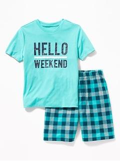 0d9cfc40 Boys' Pajamas & Sleepwear | Old Navy