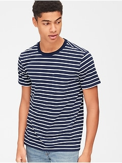 4d67a1330 Stripe Pocket T-Shirt