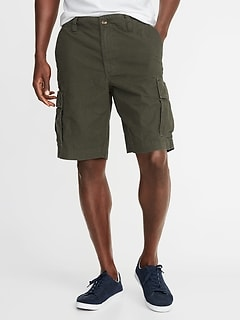 42d58f064e Lived-In Built-In Flex Ripstop Cargo Shorts for Men - 10-inch