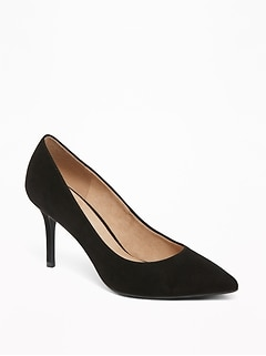 69b1bf70635 Sueded High-Heel Pumps for Women