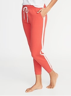 509864c6158d Side-Stripe French-Terry Joggers for Women