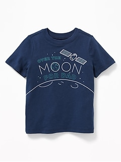 Graphic Crew-Neck Tee for Toddler Boys c2a1a0be7
