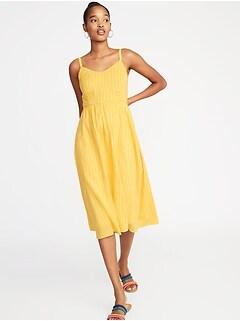a0e27b824641e Fit   Flare Cami Midi Dress for Women