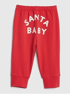 Clothing, Shoes & Accessories Bottoms Baby Gap Red Joggers With Logo 6-12 Months