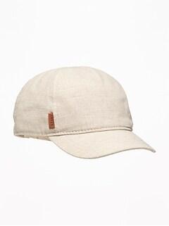 721e7b52205 Linen-Blend Baseball Cap for Toddler   Baby