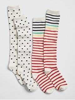 849fce2b7f0 Kids Knee-High Socks (2-Pack)