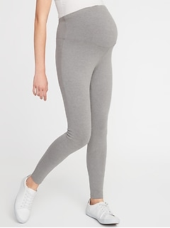 908a0a23538 Maternity Full-Panel Jersey Leggings