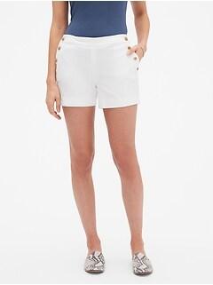 5ad94529bb40 Pique Sailor Shorts - 4 inch inseam