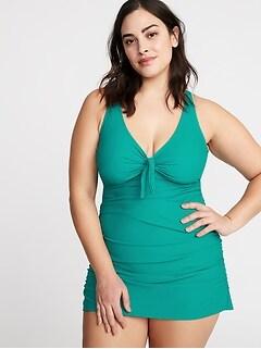 Women\'s Plus-Size Swimwear & Bikinis | Old Navy