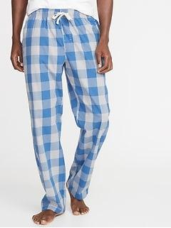 f458e7d5a3 Printed Poplin Sleep Pants for Men