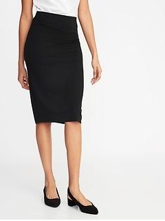 aa895192164 Jersey-Knit Midi Pencil Skirt for Women