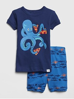 3a8978bd49 Octopus Pizza PJ Set