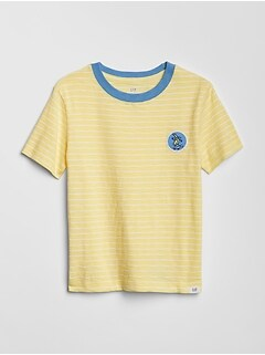 28fcdf0fc8f Stripe Graphic Short Sleeve T-Shirt