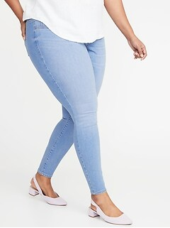 140150c84df9 High-Rise Plus-Size Pull-On Rockstar Jeggings