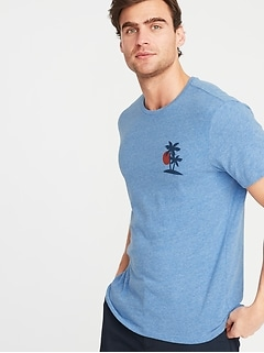 7821957fb5d56d Graphic Soft-Washed Tee for Men