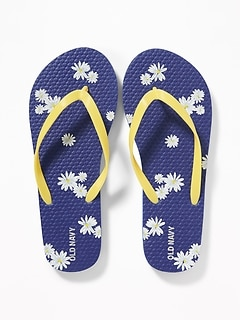 50c1288b6114 Printed Flip-Flops for Girls