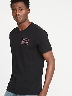 7a1d5896ef Graphic Soft-Washed Tee for Men