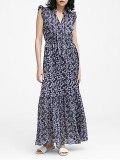 4cf57768e15a Petite Floral Maxi Dress