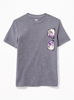 b38c8cc00 Graphic Crew-Neck Tee for Boys