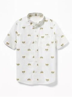 92b1d906a Boys  Long-Sleeve   Button Up Shirts