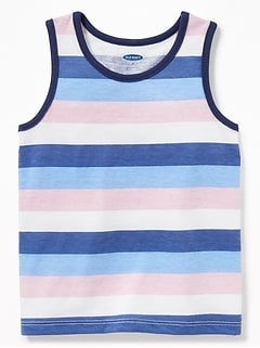 3b9792a44 Striped Jersey Tank for Toddler Boys