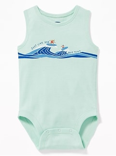 a55aae10f Graphic Sleeveless Bodysuit for Baby