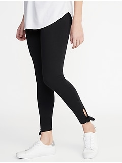 b46a77db1c79f Tie-Ankle Leggings for Women